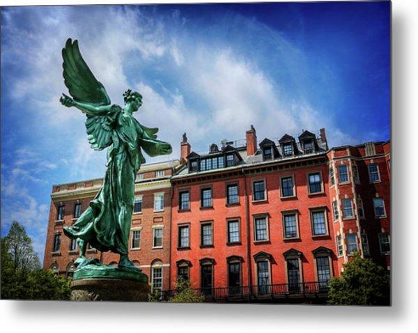 Angel Of Boston  Metal Print