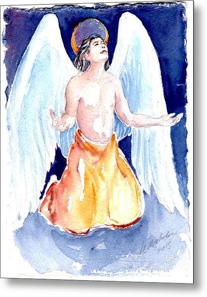 Angel Of Gratitude Metal Print