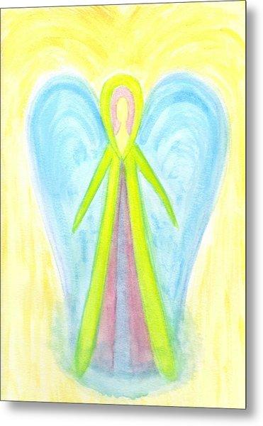 Angel Of Protection Metal Print by Konstadina Sadoriniou - Adhen