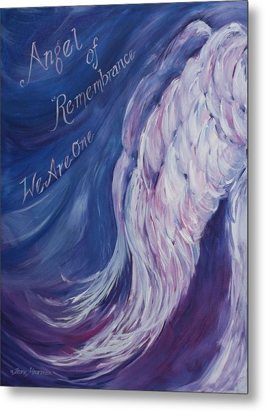 Angel Of Remembrance Metal Print