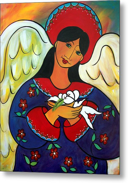Angel Of Renewal Metal Print