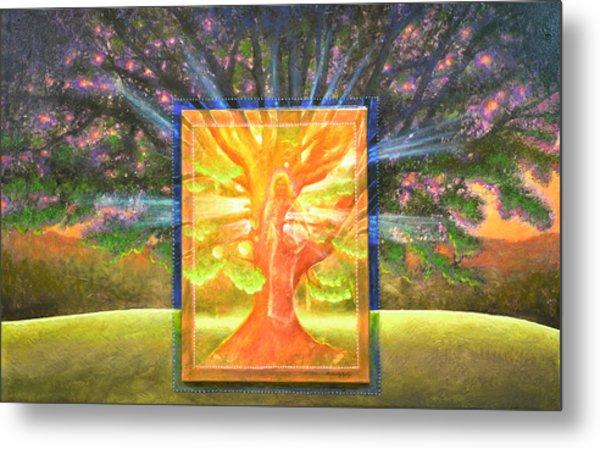 Angel Of The Trees Metal Print
