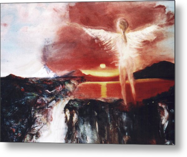 Angel Of The Yucatan Metal Print by Michela Akers