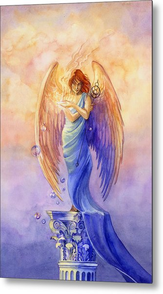 Angel Of Truth And Illusion Metal Print