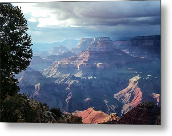 Angel S Gate And Wotan S Throne Grand Canyon National Park Metal Print