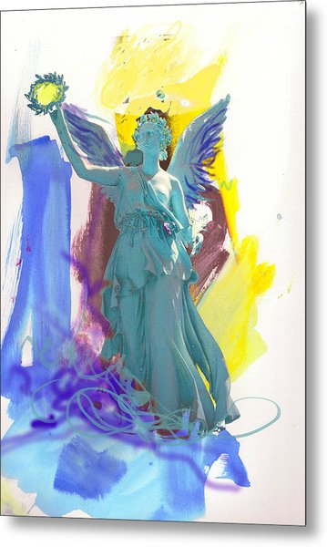 Angel, Victory Is Now Metal Print