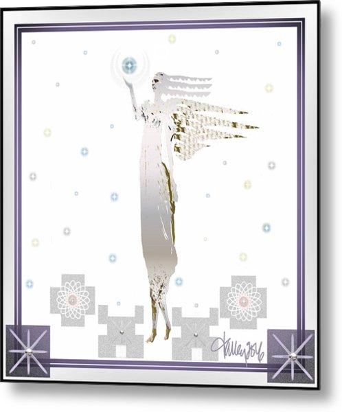 Angelic Messenger Metal Print