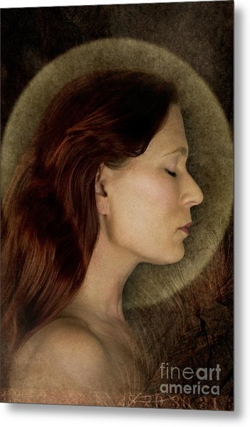 Angelic Portrait Metal Print