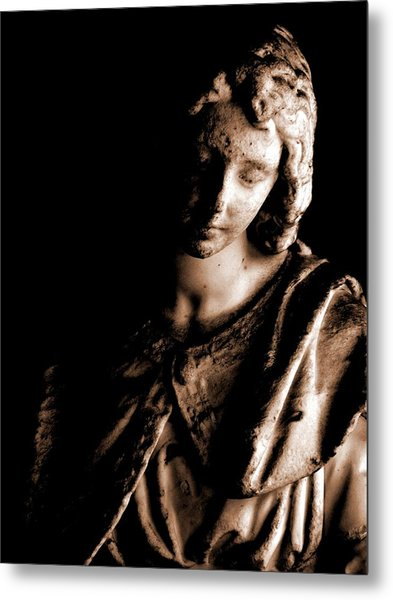 Angelic Reverence Metal Print