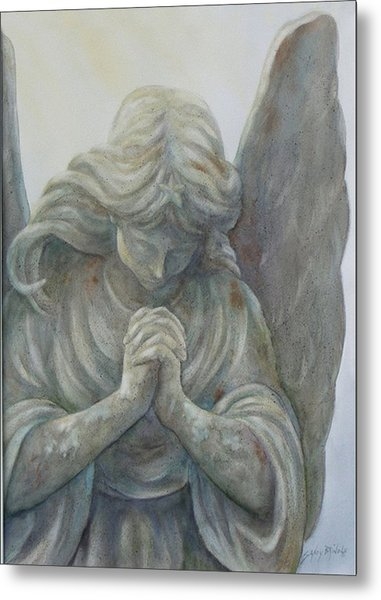 Angels On High Sold Prints Available Metal Print