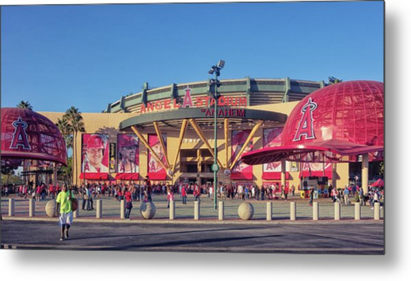 Angels Stadium Metal Print