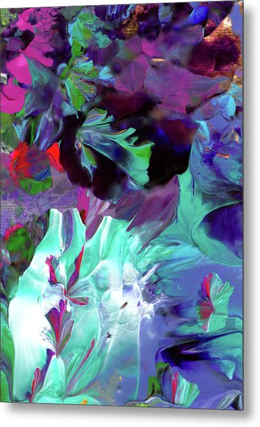 Angel's Teardrop Metal Print