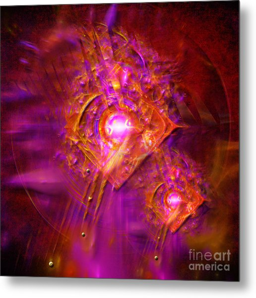 Angels Vibration Frequency  Metal Print