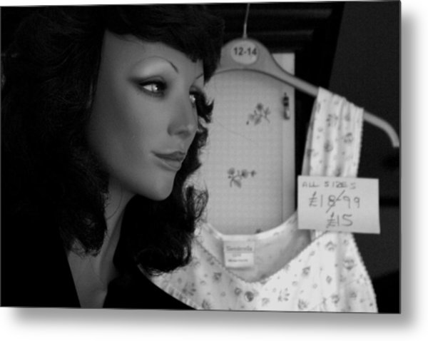 Angie Metal Print by Jez C Self