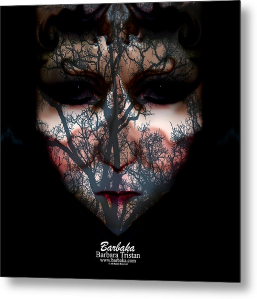Angry Monster Child #4 Metal Print