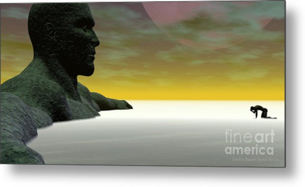 Anguish Metal Print