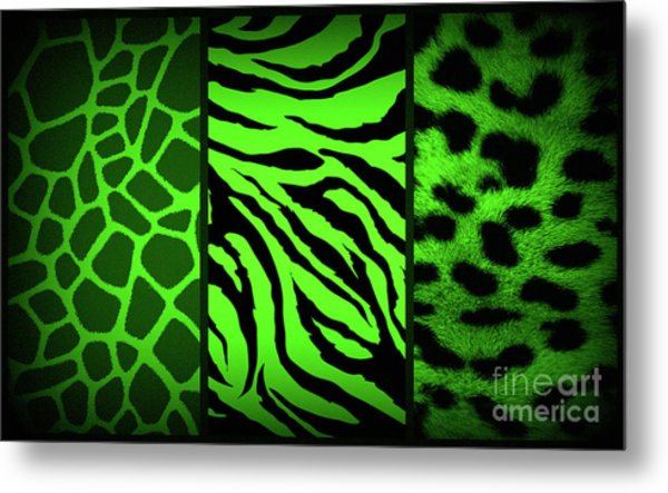 Animal Prints Metal Print
