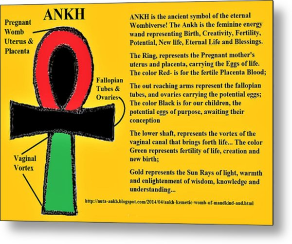 Ankh Meaning Metal Print