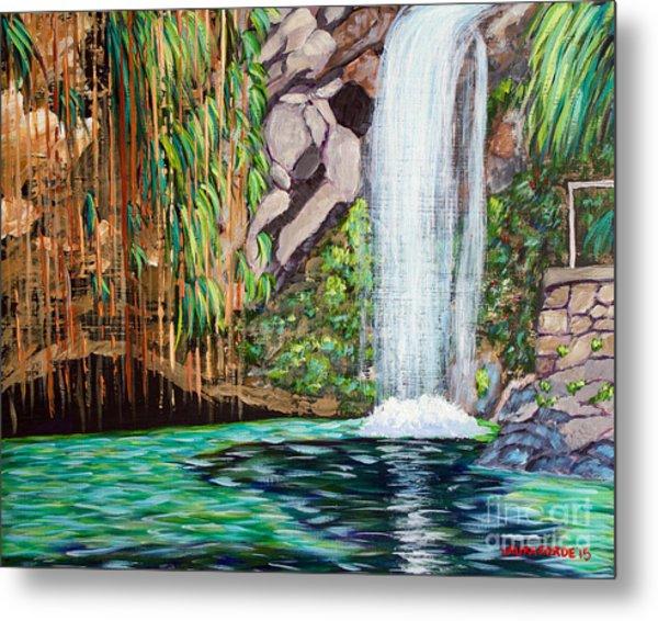Annandale Waterfall Metal Print