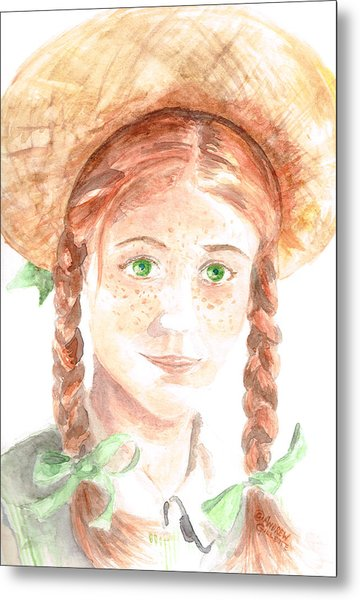 Anne Of Green Gables Metal Print