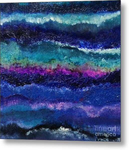Anne's Abstract Metal Print