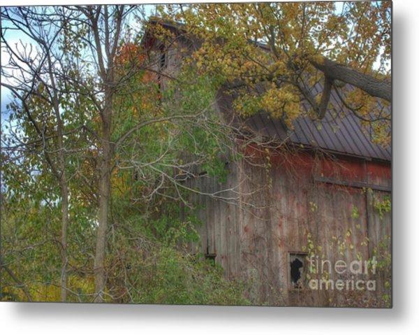 0001 - Annie's Barn I Metal Print