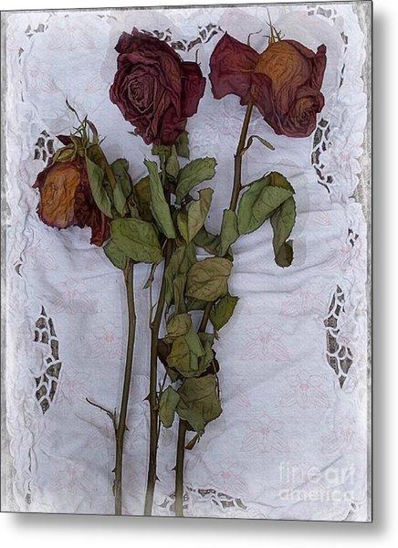 Anniversary Roses Metal Print