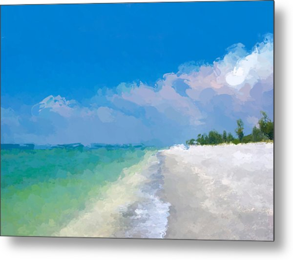 Another Beach Day Metal Print