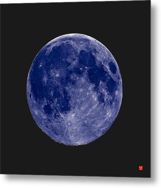 Another Blue Moon Metal Print