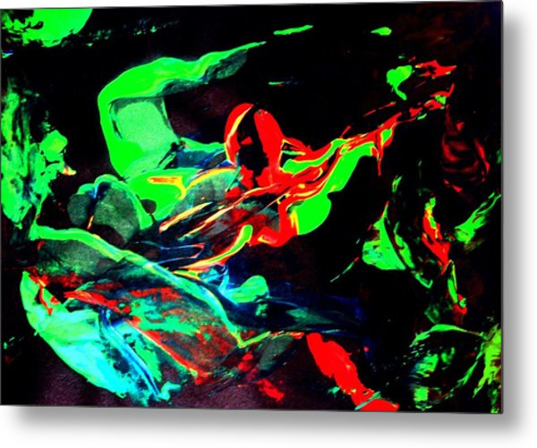 Another Combatant Metal Print by Bruce Combs - REACH BEYOND