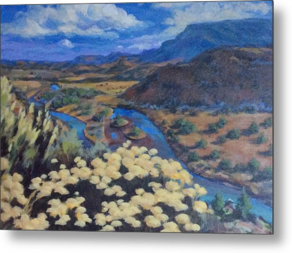 Another Day Above Rio Chama Metal Print