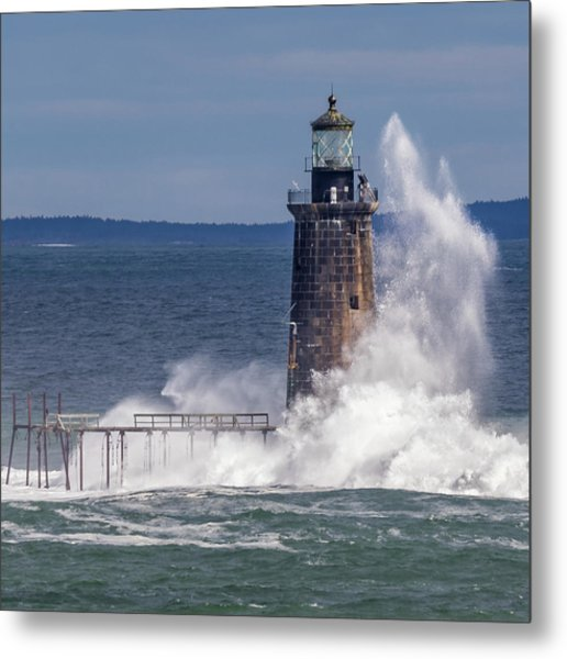 Another Day - Another Wave Metal Print