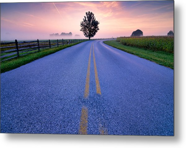 Another Gettysburg Morning Metal Print