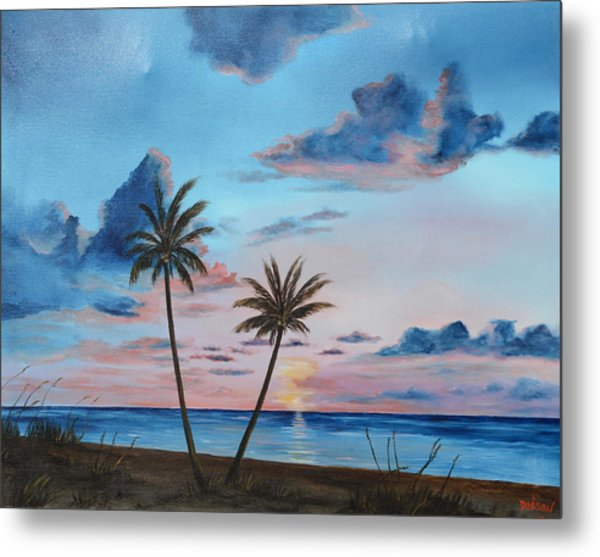 Another Paradise Sunset Metal Print