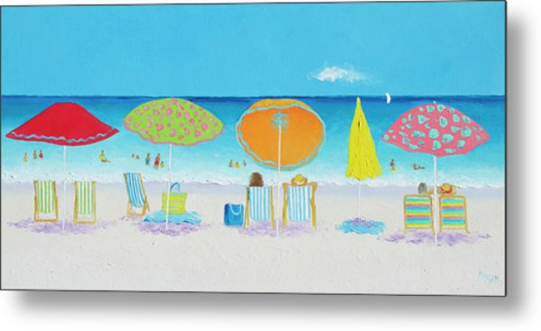 Another Perfect Beach Day Metal Print