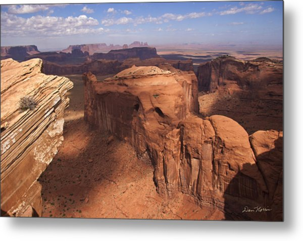 Another View From Hunt's Mesa Metal Print