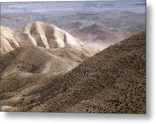 Another View From Masada Metal Print