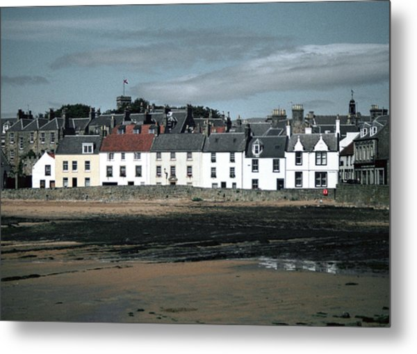 Anstruther Beach Metal Print