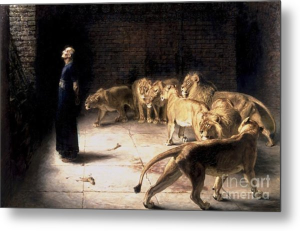 Answer To The King Metal Print