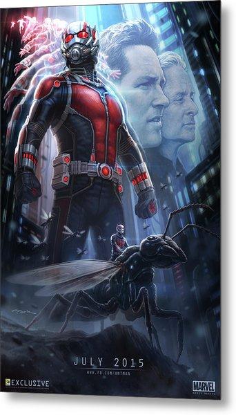 Ant Man 2015 Metal Print