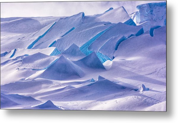 Antarctic Landscapes  Metal Print