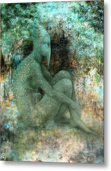 Anticipation Metal Print by Lolita Bronzini