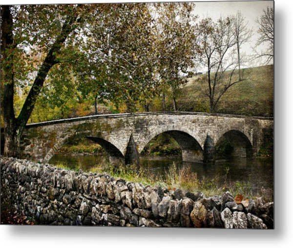 Burnside's Bridge Over Antietam Creek Metal Print