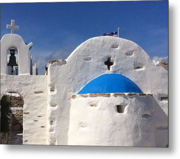 Antiparos Island Greece  Metal Print