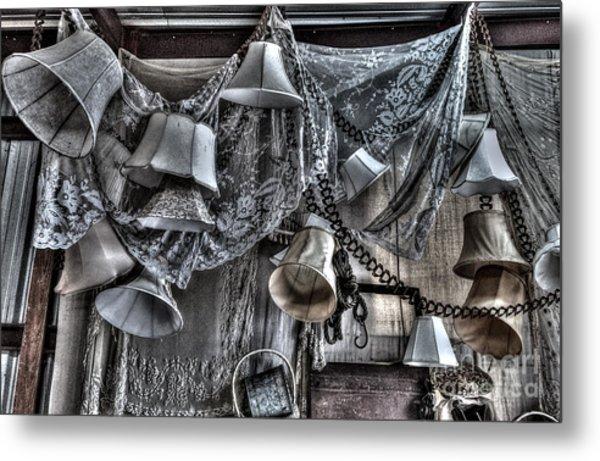 Antique Lamps Metal Print