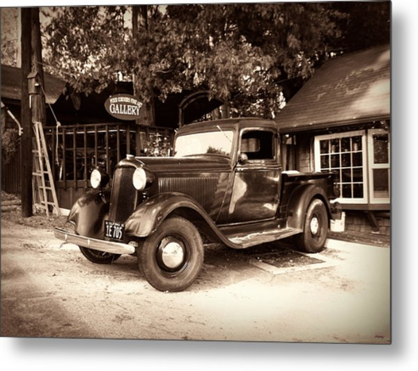Antique Road Warrior - 1935 Dodge Metal Print