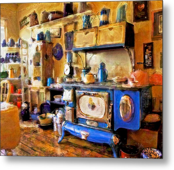 Antique Store Kitchen Metal Print