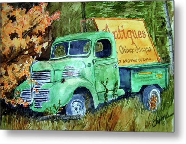Antiques And Other Junque Metal Print