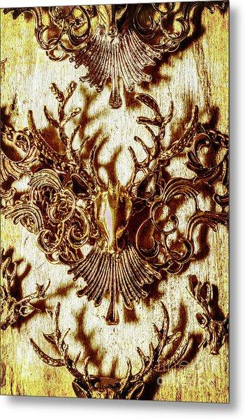 Antler Antiquities Metal Print