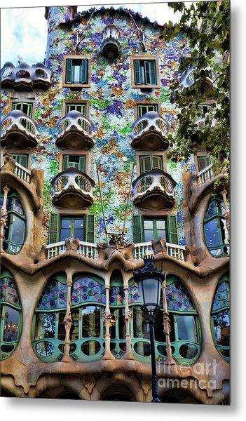 Antoni Gaudi's Casa Batllo Barcelona Spain  Metal Print
